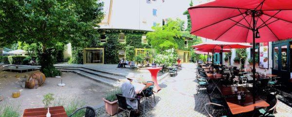 Heckmann Hoefe Berlin Oranienburger Strasse Synagoge Sommer Sommerfest Kreativ Campus Hof