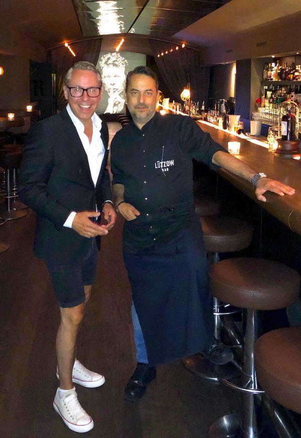 2019 Afterwork Donnerstag Gastgeber Thomas Altenberger Bar Chef Luetzow Platz Berlin Blog