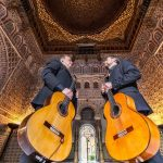 Sat 02.11.2019 7:30pm Flamenco in Berlin – Antonio Andrade Duo Flamenco guitars inspire concert goers – Werkhaus Heckmann-Höfe is transformed into a flamenco concert hall