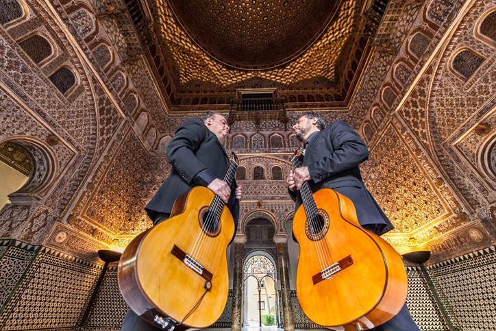 Flamenco Berlin Antonio Andrade Duo Gitarren Werkhaus Heckmann Hoefe GUITARRAS FLAMENCAS Konzert Mitte Placces Concierge Empfehlung recommendation reservation