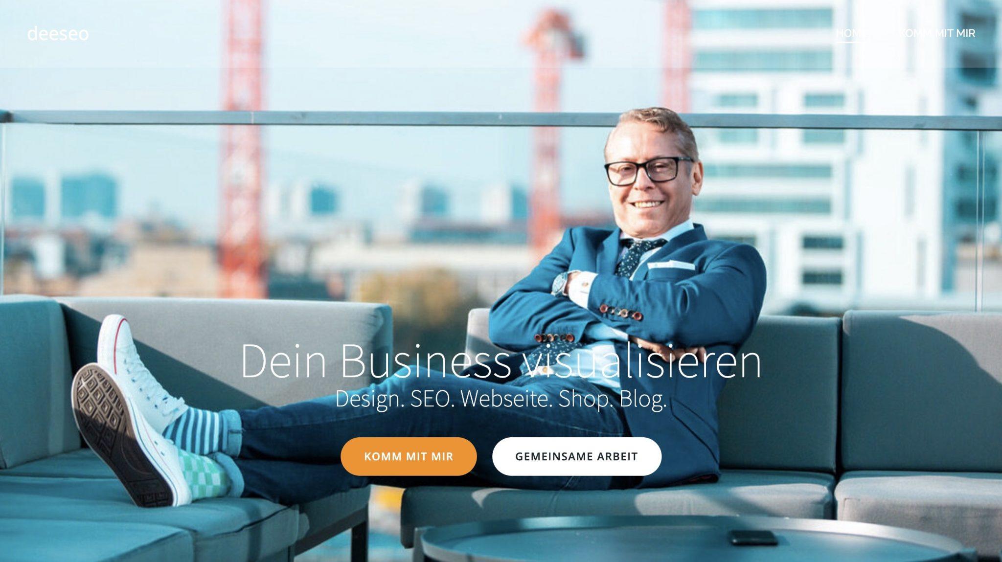 website design programming construction development design graphics photo concierge Gerry developer deeseo