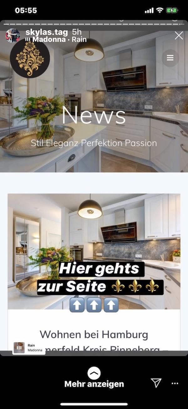 Finest-Art-Of-Living-Promotion-Instagram-Lydia-Geldmacher Website Gestaltung Idee e-concierge So entstehen Webseiten und deren Entwicklung live