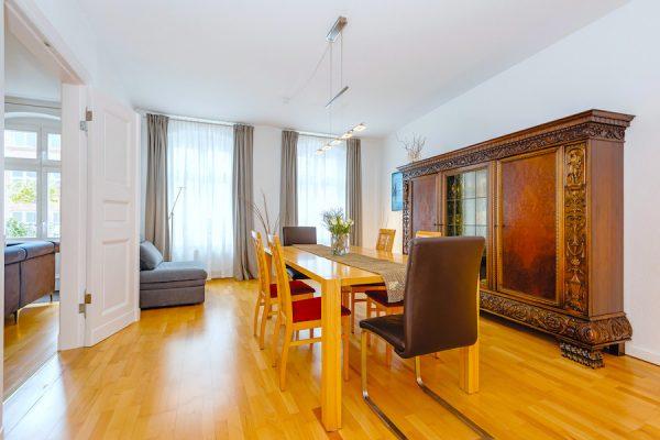 2020 Esszimmer o63942 Torstrasse Mitte Novalisstrasse maisonette wohnung berlin kaufen tolle immobilien Fenster