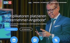2020 LiXi Marktplatz Matching Multiplikatoren Unternehmen Vermitteln Empfehlung