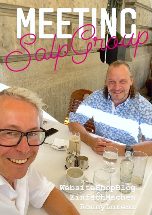 SALP Construction deeseo entwickelt Webseite Gerry Concierge Ronny Lorenz Instagram Blog