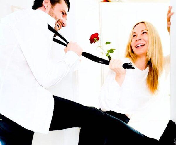 Hochzeit Mike Cees Michelle Monballijn Heirat Standesamt Ehe Eheleute geheiratet Model Schauspieler Actor