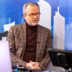 Thomas Kleindienst, Vorstandsmitglied der WGLi Wohnungs-Genossenschaft Lichtenberg eG im Immobilien-Podcast mit Corvin Tolle