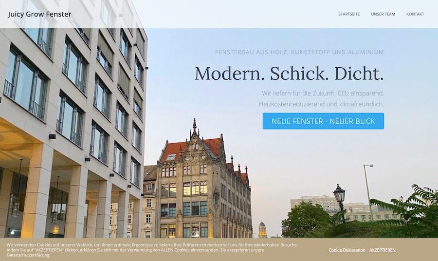 Juicy Grow Fenster Concierge Blog deeseo gestaltung webdesign entwicklung