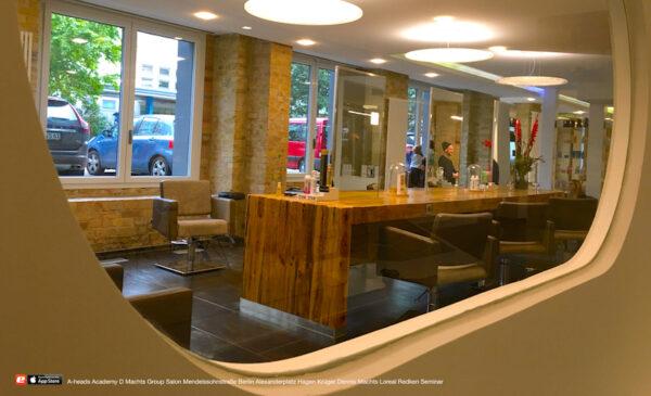 A-heads D Machts Group Salon Friseur neu Mendelssohnstrasse 27 Berlin Alexanderplatz Dennis Loreal Redken aheads Master