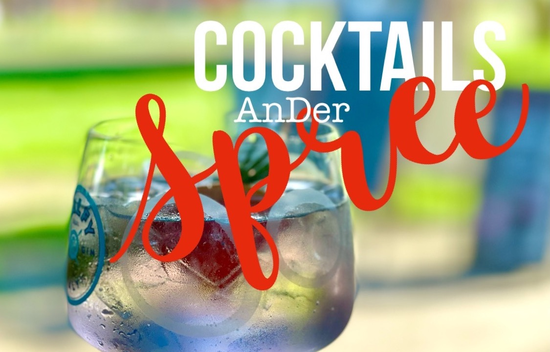Palladium Cocktails an der Spree Open Air Event direkt Blick Wasser Hackescher Markt Blog