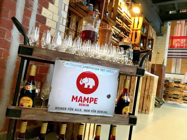 Mampe Berlin Tom Event Heimat Elefanten halb Spirituosen Geschichte Marke Halle Spirituosenmanufaktur Verkauf