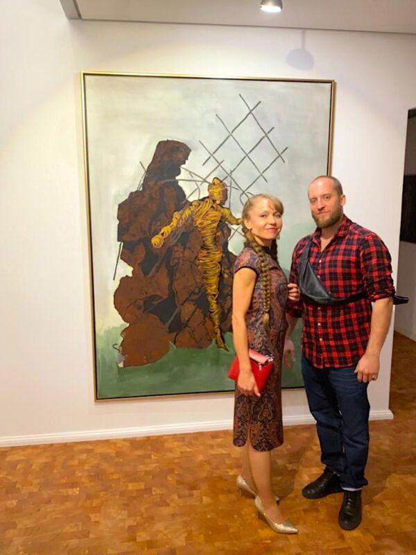 Janet Grimm Vernissage Jonas Hoedicke Vernissage Kunst Kuenstler Bilder Kunstwerke Skulpturen Concierge Blog